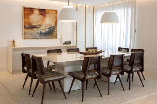 mesa laca branca