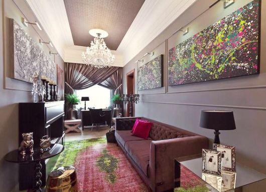 decoração sala moderna