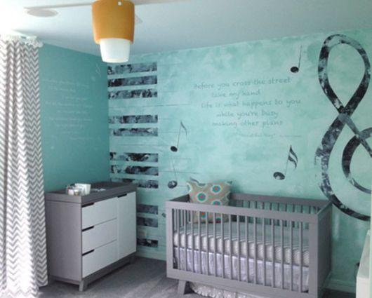 quarto de bebê de menino