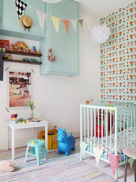 quarto de bebê fazenda