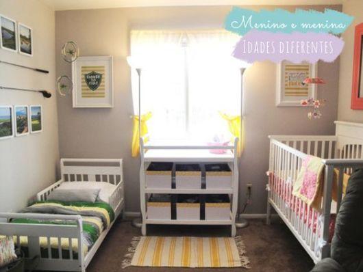 quarto de bebê moderno ideia