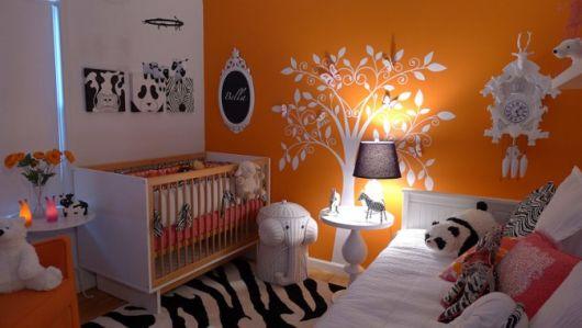 quarto de bebê moderno meninas