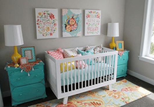 quarto de bebê moderno menins