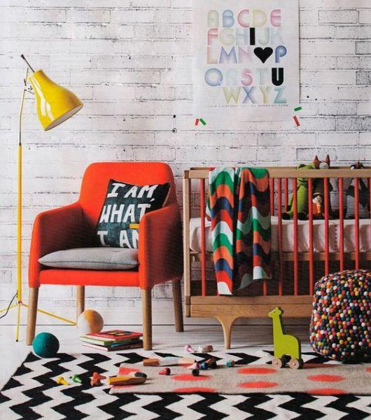 quarto de bebê modernos masculino