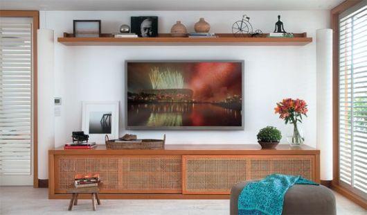 Rack Para Sala De Tv Pequena ~ Racks modernos 30 modelos lindos!