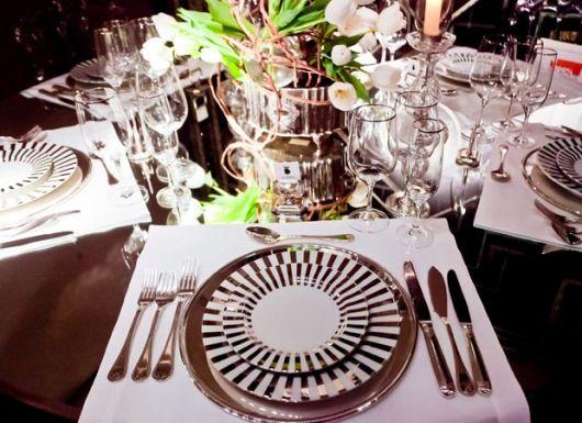 mesa posta sofisticada