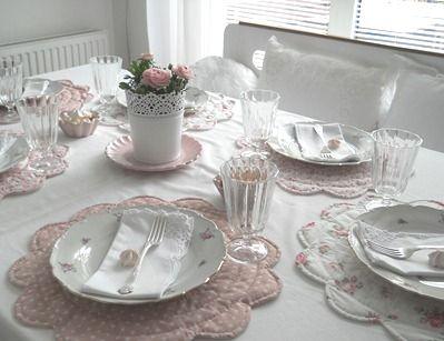 mesa decoração suave