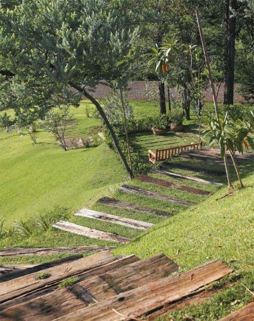 jardim amplo