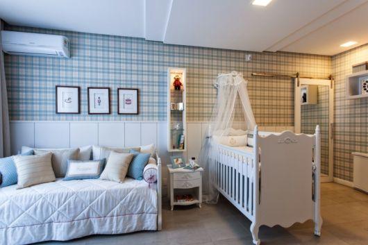 Papel de parede para quarto de bebê -