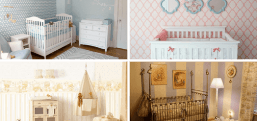Papel de parede para quarto de bebê capa do post