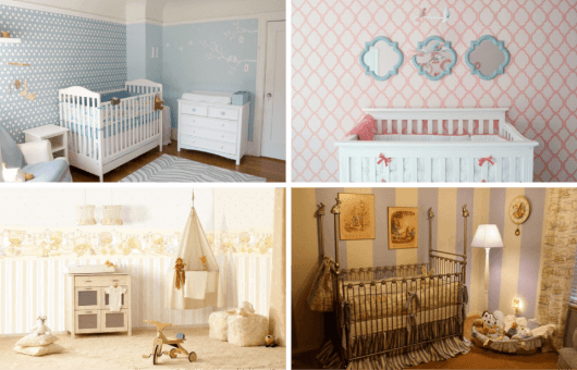 Papel de parede para quarto de bebê 65 modelos lindos ~ Papel De Parede Para Quarto Do Hulk