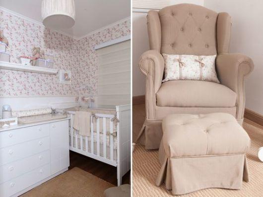 Papel de parede para quarto de bebê decoração