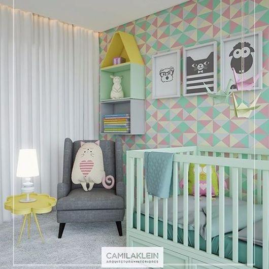 Papel de parede para quarto de beb 65 modelos lindos - Papel pared bebe ...