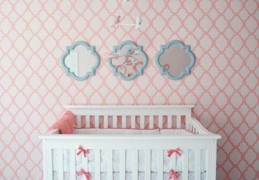 Papel de parede para quarto de bebê outros menina