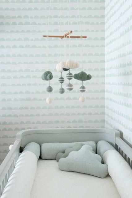 Papel de parede para quarto de bebê outros