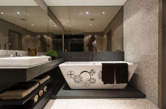 banheira decorada