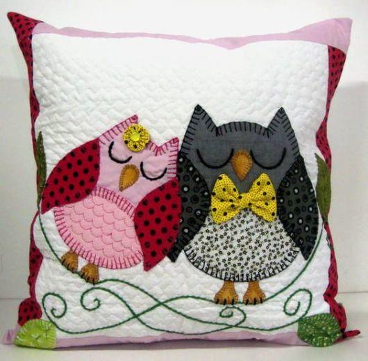 55 almofadas de coruja as melhores para fazer e decorar - Cojines bonitos ...