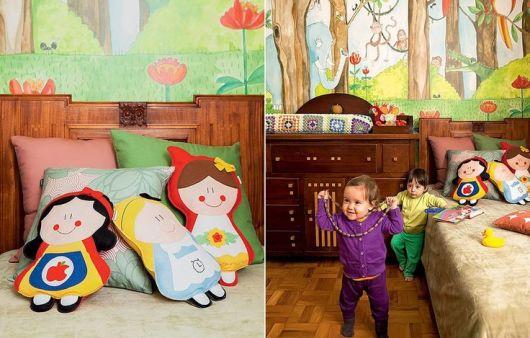 quarto infantil conto de fadas