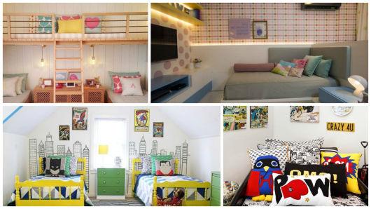 quarto de menina e de menino