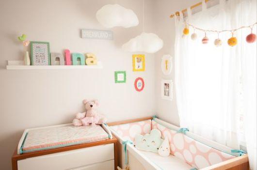 quarto de bebê cores suaves