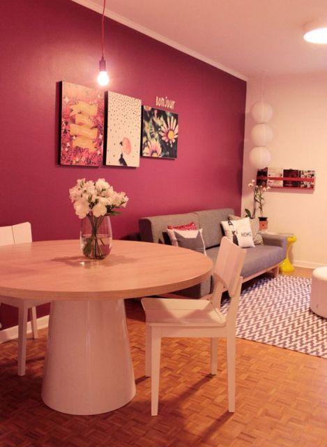 mesa redonda sala de jantar