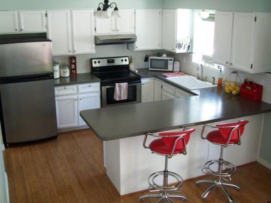 Bancada de cozinha 65 inspira es para sua casa for New kitchen ideas 2016