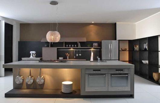 bancada de cozinha em corian grande