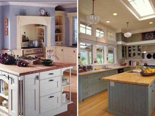 Bancada de cozinha 65 inspirações para sua casa # Bancada De Cozinha Feita De Porta