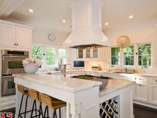 bancada de cozinha mármore