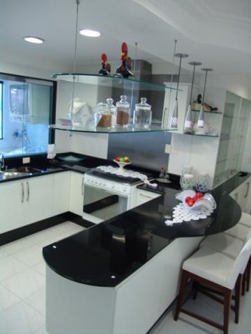 bancada de cozinha vidro pintado