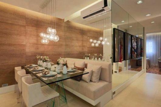 decoração sala de jantar pequena e moderna