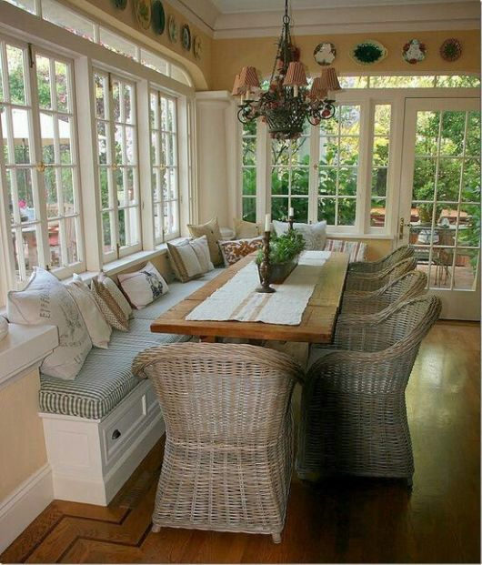 Sun Room Storage Ideas