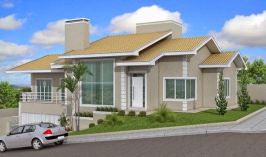 45 casas de esquina fachadas projetos e plantas incr veis for Modelos de casas fachadas fotos