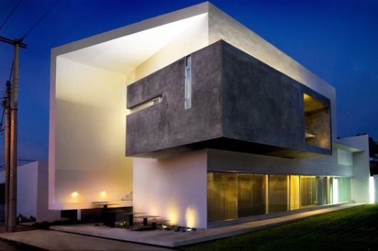 Fachada moderna de vidro