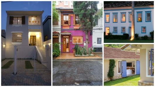 Casas antigas fachadas reformas e 44 fotos de casas lindas - Casas de campo restauradas ...