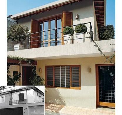 Casas antigas fachadas reformas e 44 fotos de casas lindas - Reformas de casas ...