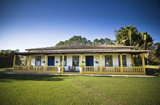 Casa térrea fazenda