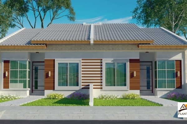 Projeto fachada casa térrea