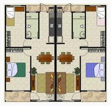 Projeto 3D dois quartos