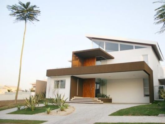 Cores de casas tend ncias para a pintura externa for Pinturas de casas modernas