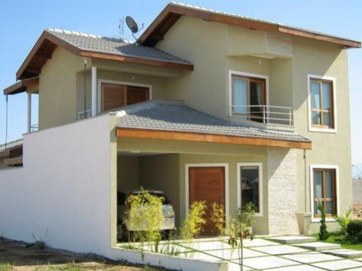 Cores de casas tend ncias para a pintura externa - Pintura para fachadas de casas ...