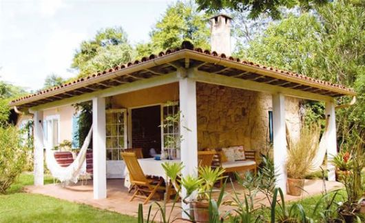 Cores de casas tend ncias para a pintura externa - Casas de campo restauradas ...