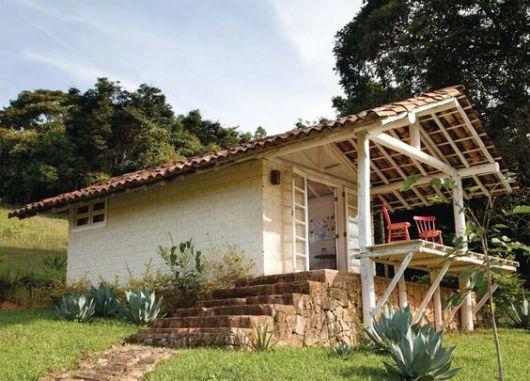 Casa simples casa de campo