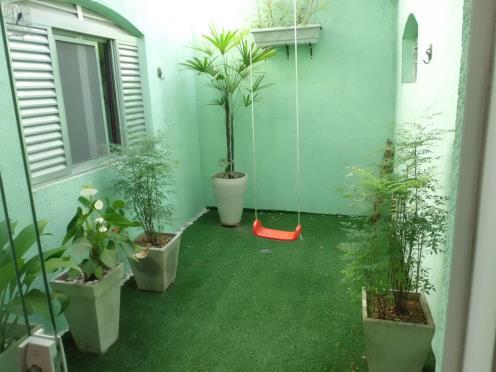 jardim interno simples