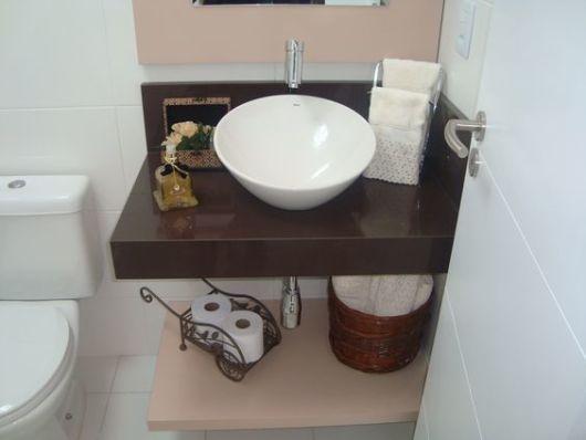 banheiro bancada