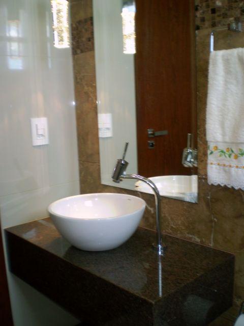 Granito marrom cores, preços e projetos! -> Cuba Banheiro Marrom
