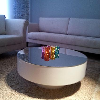 mesa laca e espelho
