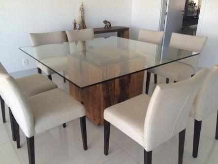 mesa com 8 lugares