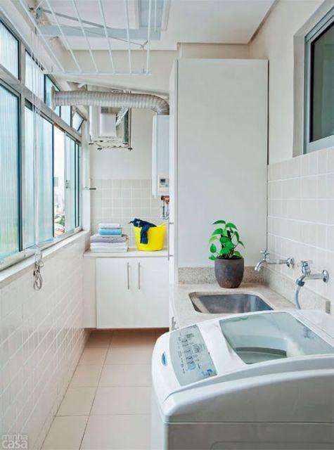 Modelos de lavanderias: 72 projetos de área de serviço!