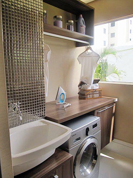 Lavanderia planejada apartamento